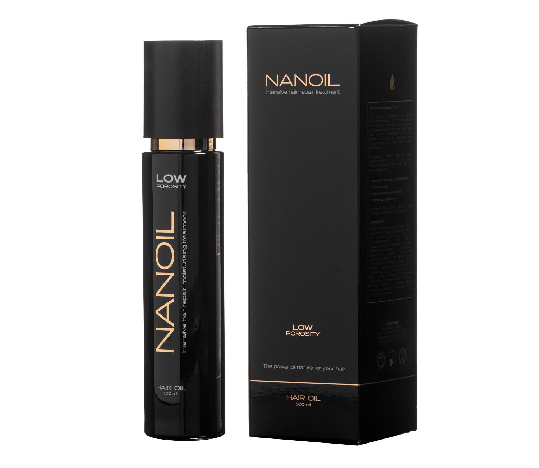 Olej do włosów trudnych w stylizacji Nanoil
